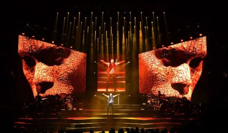 zenith lighting pointes at Chayanne focus image