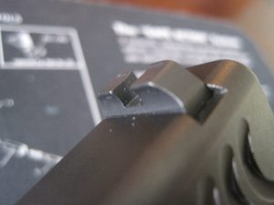 Claw EMS Rear Sight