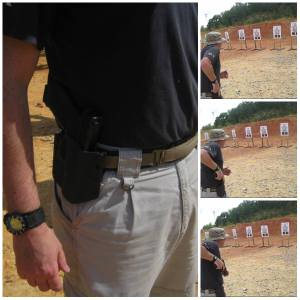 Dark Star Gear Holster at CFS course