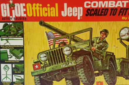 GI Joe Jeep
