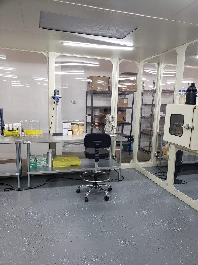 Lab at Tierra Curativa