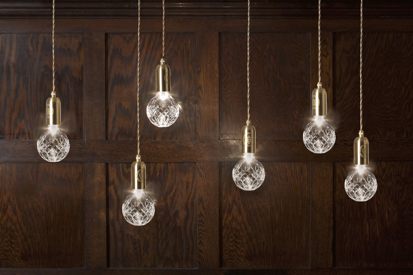 Clear Crystal Bulb Pendant By Lee Broom —