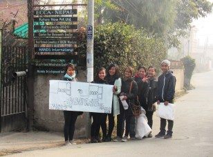 Participating in 'Win Against Winter Campaign' of ECCA to support earthquake victims
