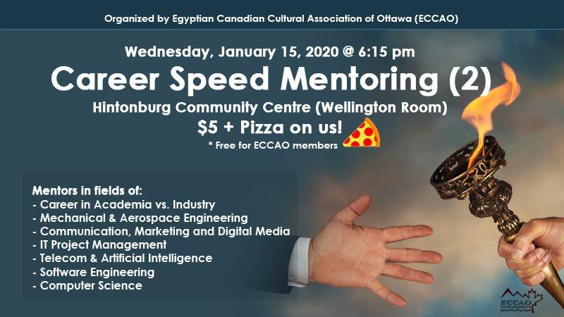Career speed mentoring 2