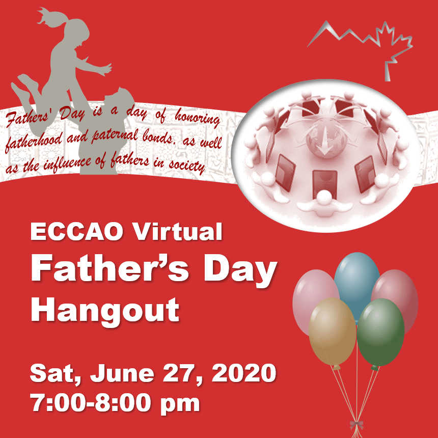 Father's Day June 27, 2020 (Virtual)