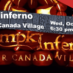 Pumpkinferno Event at Upper Canada Village