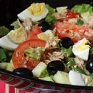 insalata di tonno con uovo