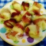 Involtini di patate, speck e zucchine