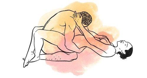 20 posizioni sessuali per il piacere di entrambi