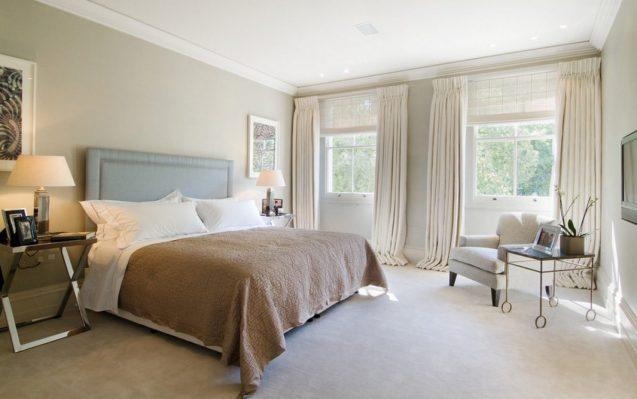 Dentro casa come scegliere le tende giuste oltre 40 idee - Tende per la camera da letto ...