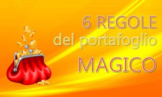 """6 regole del portafoglio """"magico"""""""