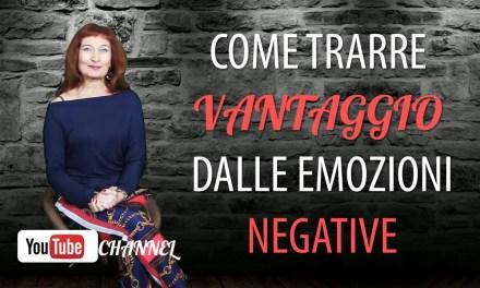 Le emozioni negative sono un ottimo potenziale per il nostro benessere!