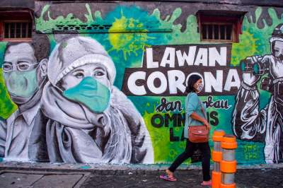 Coronavirus art