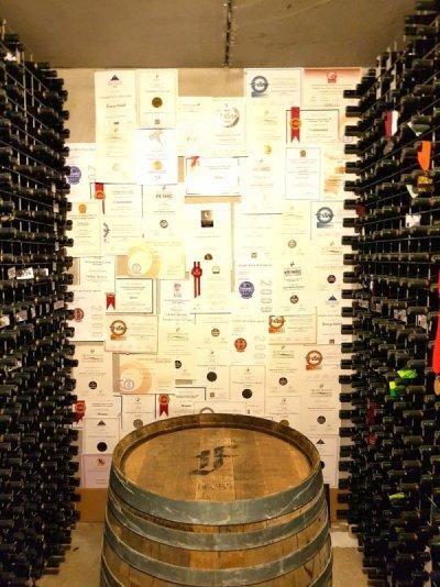 Inside Framingham Winery