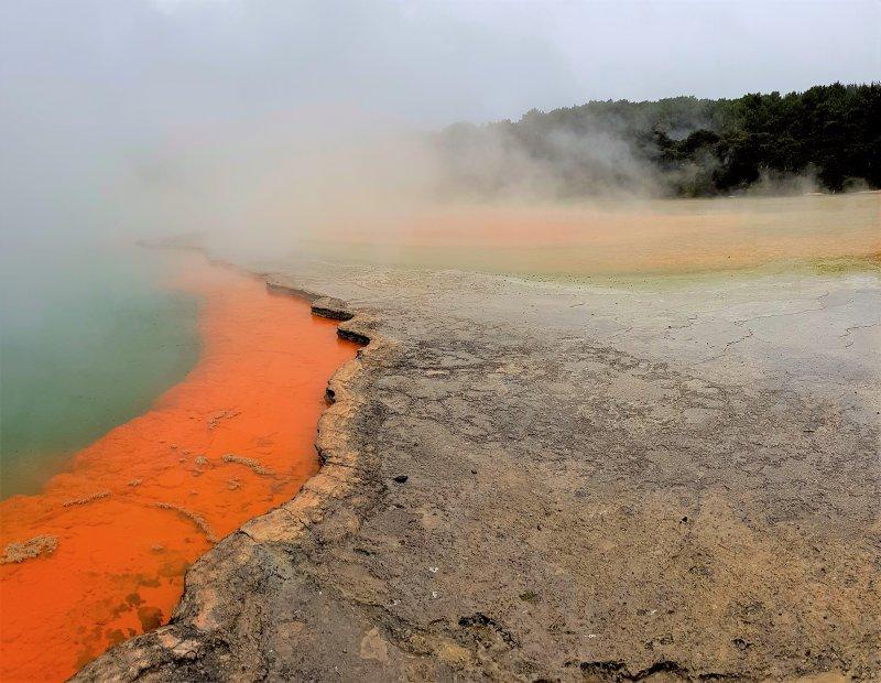 Champagne Pool at Wai-o-Tapu thermal wonderland