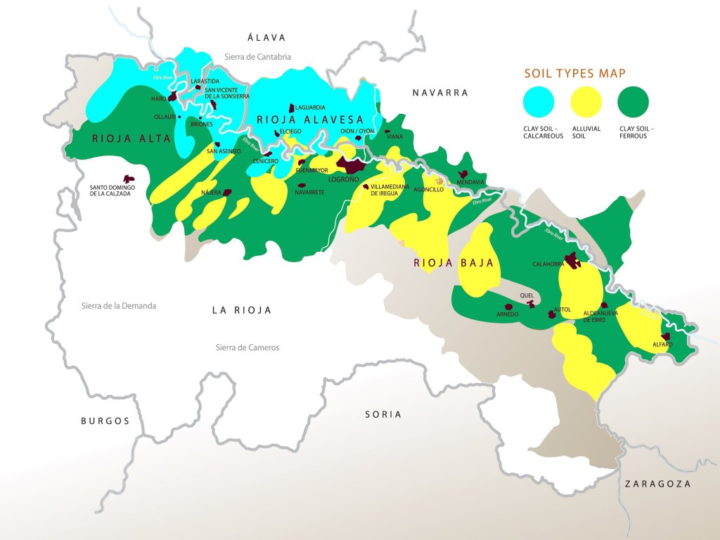 The Rioja region and its wines