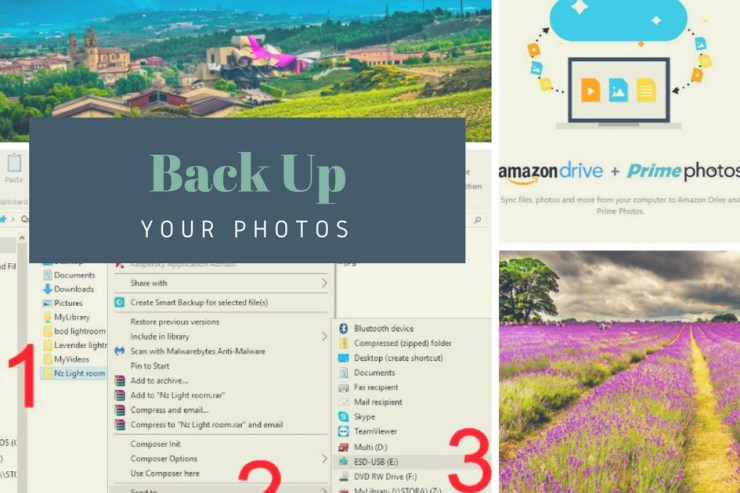 Back up your photos