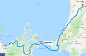 nelson to palmerston north