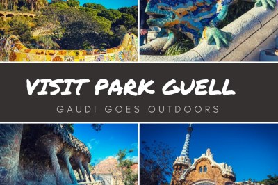 Park Guell - GAUDI GOES OUTDOORS