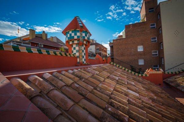 Casa Vicens casa vicens roof 1
