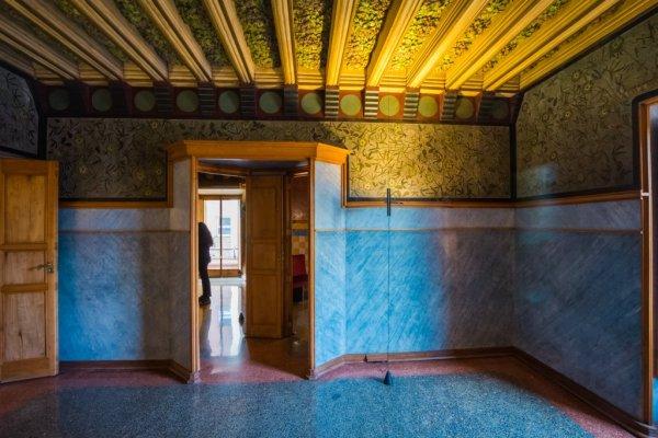 Casa Vicens Ceiling detail