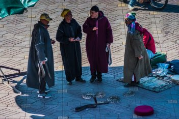 Snake Charmers - Main Square