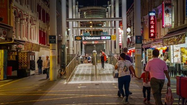 Chinatown MRT Singapore Visit