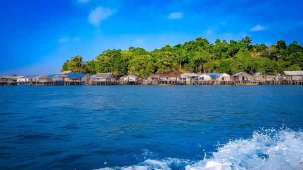 Water side village