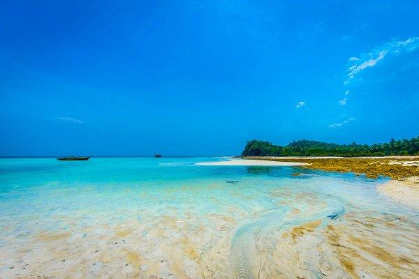 deserted tropical island indonesia