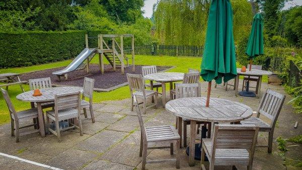 Gomshall Mill Pub Garden