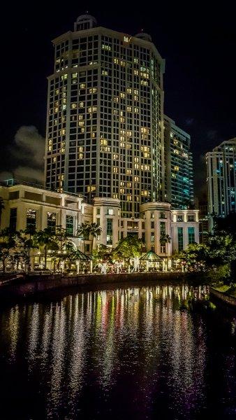 singapore River night