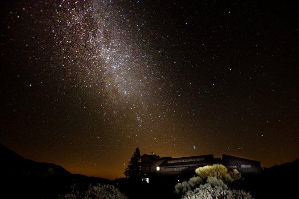 Hotel Parador at Night - Mount Teide Tenerife