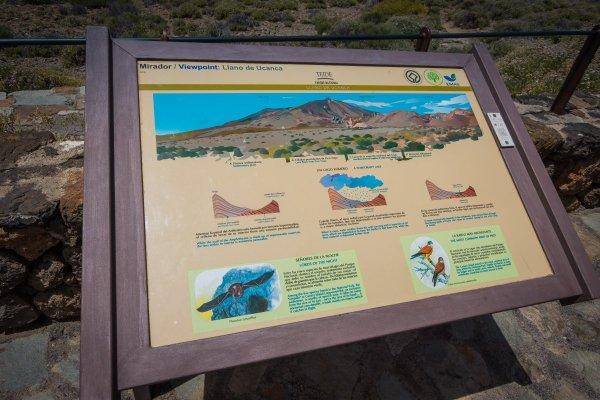 Info Board - Mount Teide Tenerife