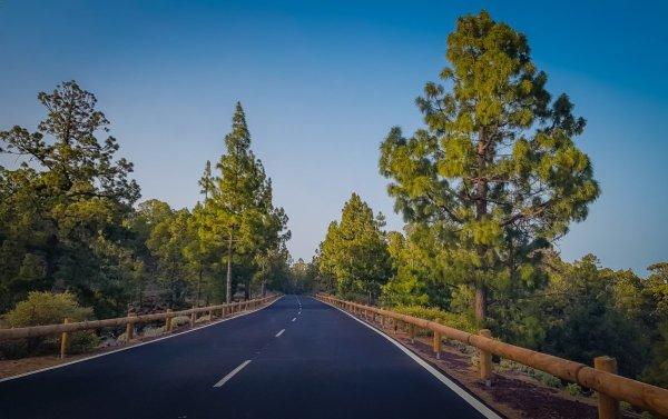Roads on Tenerife