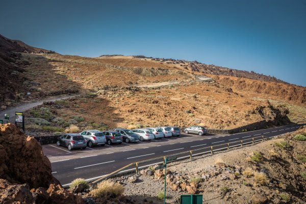 Typical Viewpoint - Mount Teide Tenerife