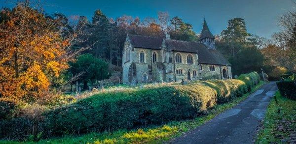 Church at Holmbury St Mary