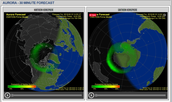 Aurora Forecast - In search of the Northern Lights