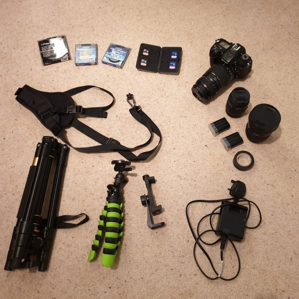 Camera Gear - In search of the Northern Lights