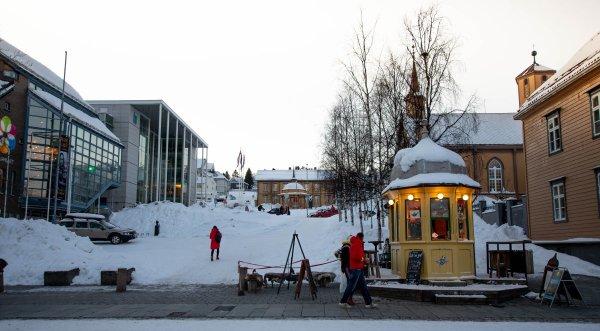 Rocket Kiosk Tromso Norway's smallest pub