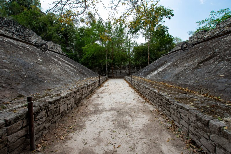 Coba Ruins ōllamaliztli ball court
