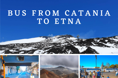 Bus from Catania to Etna