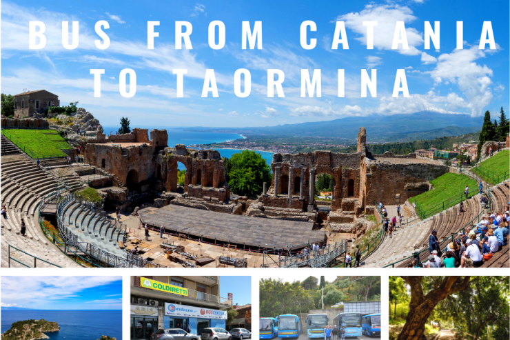 Bus from Catania to Taormina