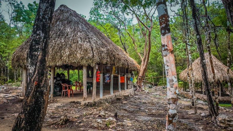 Cenote Choo-Ha above ground