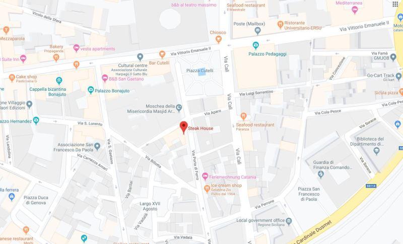 Steak house google maps