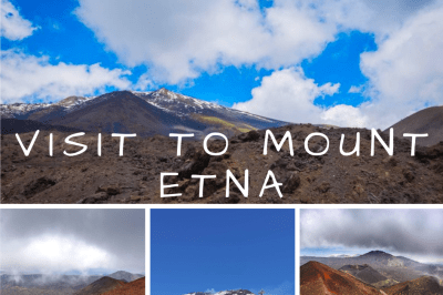 Visit to Mount Etna