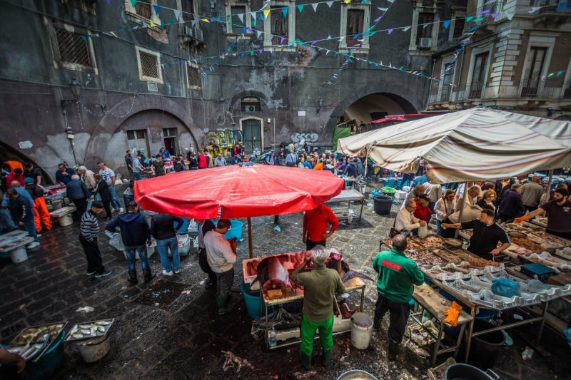 Fish market - Things to see in Catania