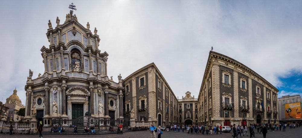 Things to see in Catania panorama