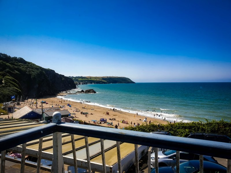 Balcony View - The Ship Inn Tresaith