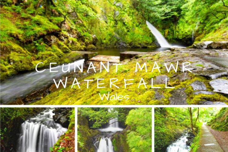 Ceunant Mawr Waterfall