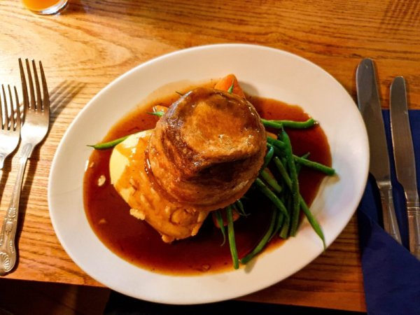 Steak and Ale Pudding - Black Horse Nuthurst